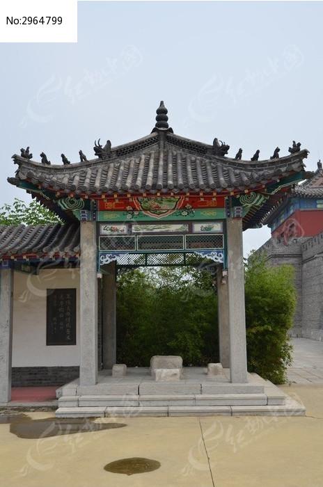 潍坊杨家埠古建筑之古典凉亭高清图片下载 编号2964799 红动网