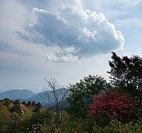 黟县五溪山上的云彩