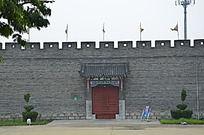 杨家埠民间艺术大观园里的城墙