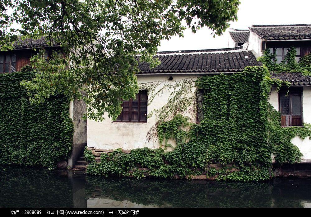 中式建筑风景图片
