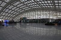 北京航站楼通道的拱顶建筑