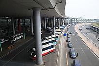 北京机场航站楼汽车通道