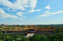 俯视紫禁城