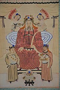 古代帝王画像