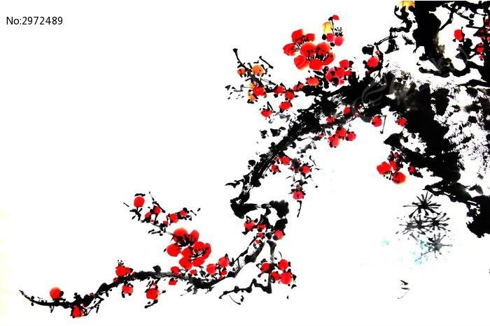 梅花树图片素材