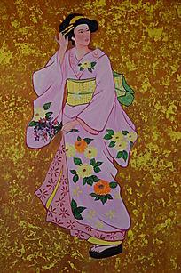 婀娜多姿的古代仕女图