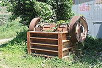 破旧的传输机