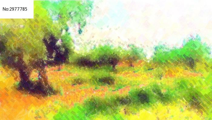水彩风景画图片_艺术文化图片