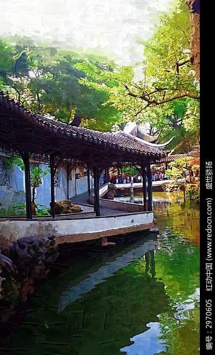 苏州拙政园风景