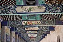 潍坊杨家埠雕梁画栋的横梁