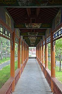 潍坊杨家埠古建筑之文化长廊