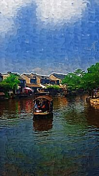 西塘古镇建筑