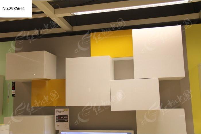 厨房的吊柜装饰图片