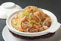 干捞虾米冬粉煲