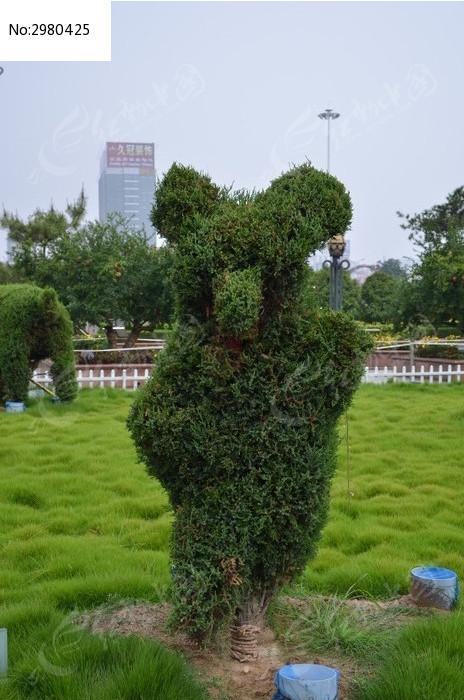 十二生肖造型的树木之虎图片