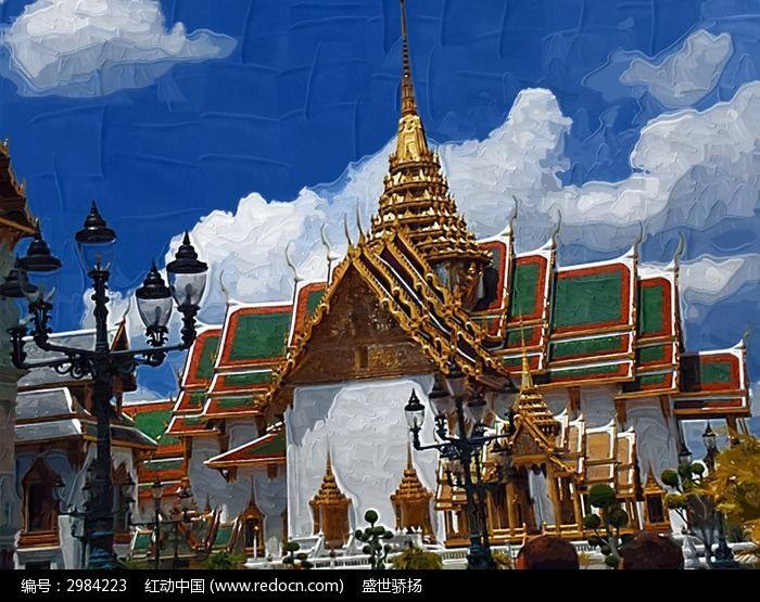 泰国佛教建筑图片,高清大图