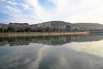 天水市西河风景线景色图片