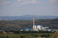 县城发电厂全景