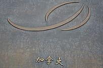 加拿大风筝协会标志浮雕