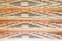 木板叠加图案版
