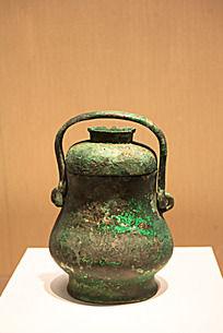 战国时期的酒具铜提梁卤