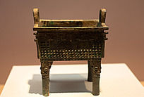 战国时期的青铜伯方鼎