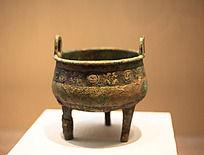 战国时期的青铜大纹四目纹鼎