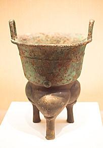 战国时期的蒸锅铜甗