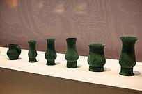战国时期酒具燕侯旨卤一套中的青铜杯
