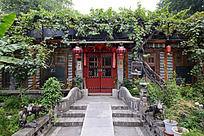 西安雁园的茶社