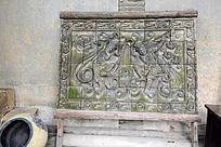 西安雁园的佛教雕画