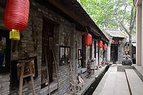 西安雁园的古老房屋