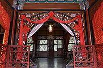 大观园内怡红院贾宝玉卧室
