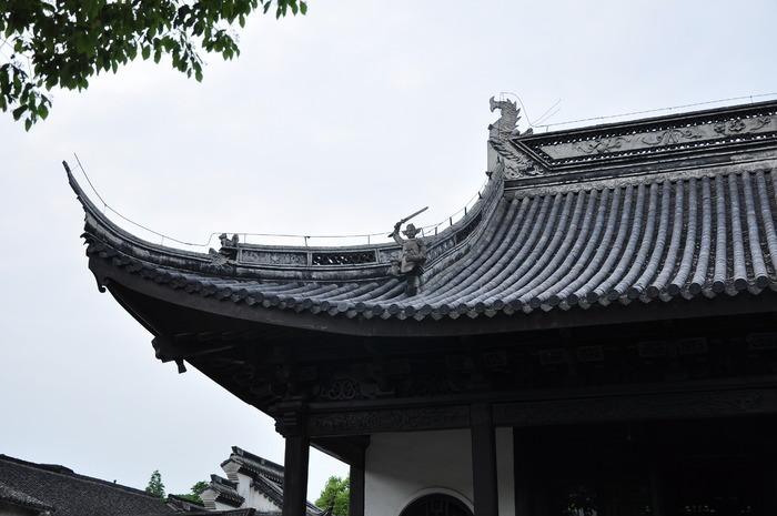 屋顶 瓦片 古建筑屋顶