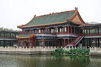 龙潭公园景观楼