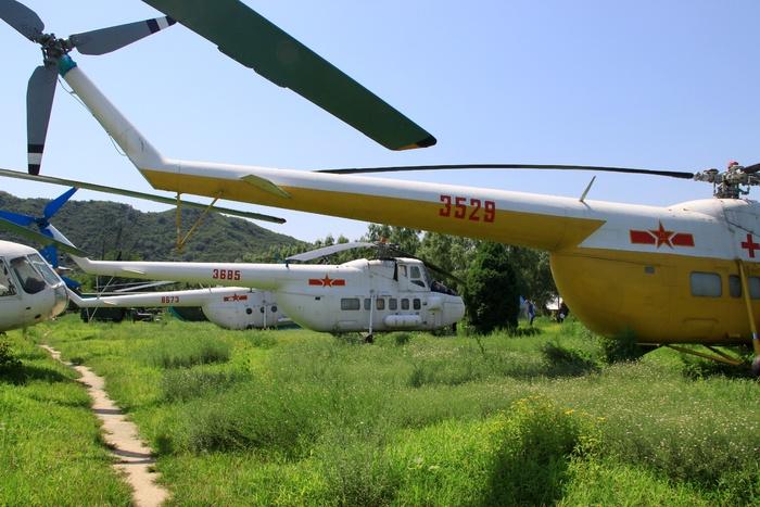 米4直升飞机群图片