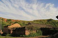 农村古老的土房子
