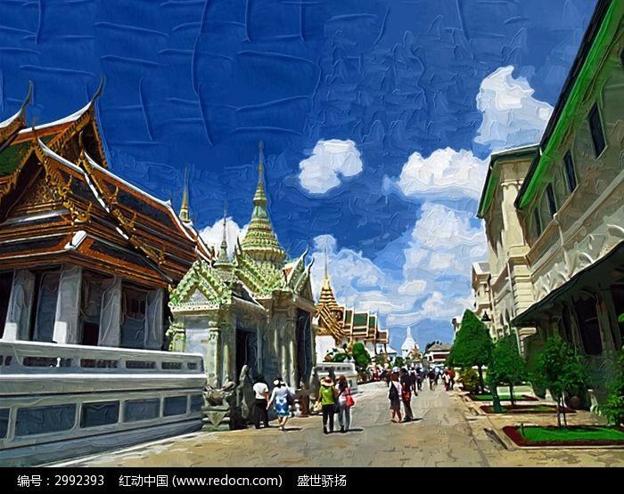 泰国旅游建筑图片