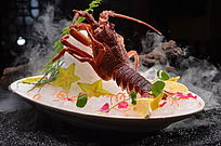 铁板焗澳洲龙虾仔