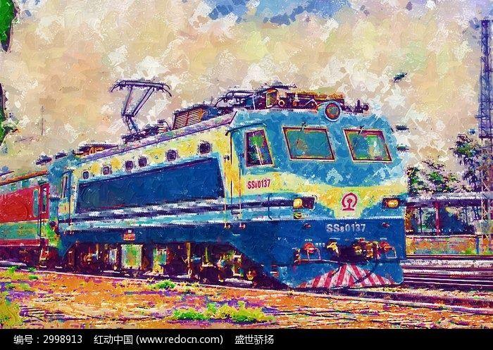 铁路火车图片,高清大图