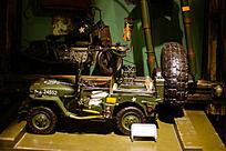 铁艺制品老式越野车模型