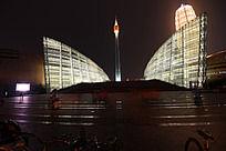 郑东新区美丽的河南艺术中心