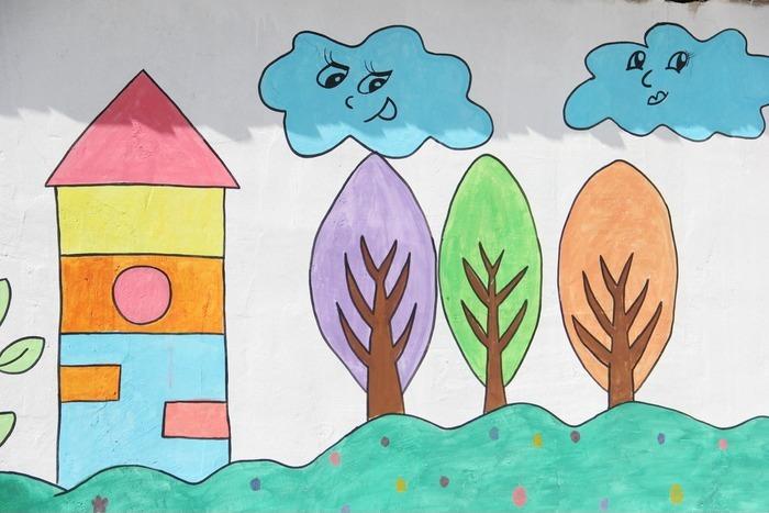 儿童绘画图片,高清大图
