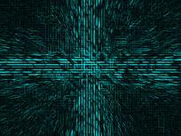 科技蓝色线条动感背景