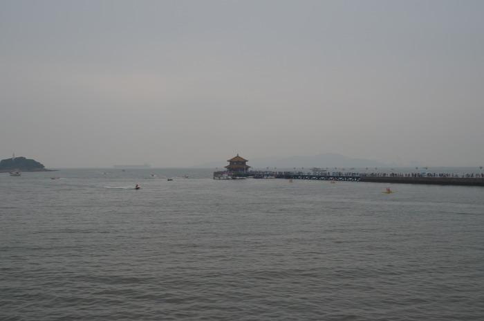 青岛栈桥艺术摄影图片