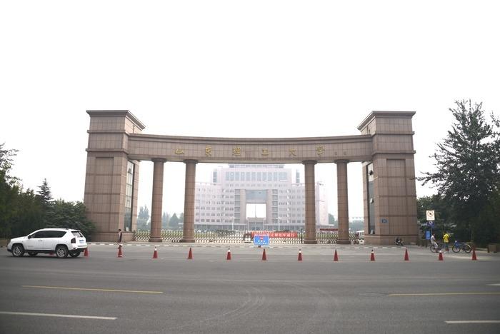 山东理工大学校门口图片图片