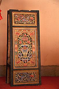 上古文化艺术馆的屏风