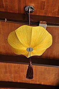上古文化艺术馆黄色灯笼
