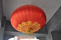 上古文化艺术馆门口的大灯笼
