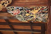 上古文化艺术馆门梁